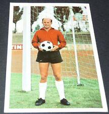 JÄCKER EINTRACHT BRAUNSCHWEIG FUSSBALL 1966 1967 FOOTBALL CARD BUNDESLIGA PANINI