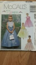 McCALL'S 3537 GIRLS DRESSES & LINED JACKET SZ 6-7-8 Special Moments