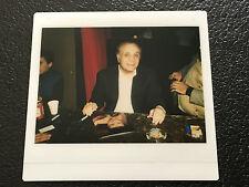 Jake LaMotta Kodak Instant Polaroid Photo 1980's Vintage Original Photograph