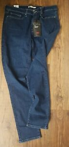 Levi's Women's 311 Shaping Skinny Jeans Mid Rise Blue 35 x 32