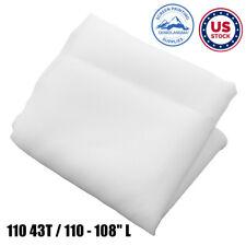 Us Stock 3 Yards Silk Screen Printing Mesh Fabric 110 43t 110 108 L