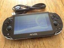 SONY PS VITA CONSOLE WIFI ONLY PCH-1004 PLAYSTATION PSVITA OLED WI-FI USED 3.01