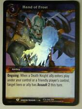 WoW Foil Card - HAND OF FROST 7/60 Dungeon Treasure World of Warcraft CCG