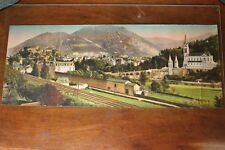 Photo-Chromo panoramique Lourdes
