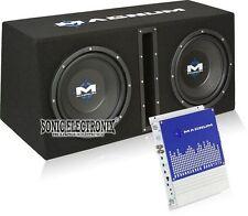 """MTX Magnum MB210SP Dual 10"""" 1200W Vented Subwoofer Enclosure + Mono Amplifier"""