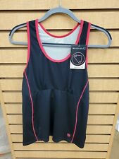 Endura Spaghetti Support Vest. Black & pink.  Wms. NOS