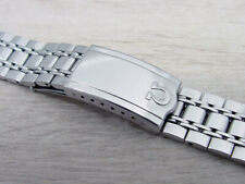 Omega Watch Band Men's Stainless Steel Original Vintage