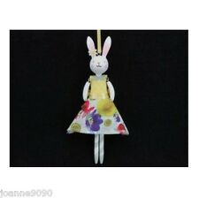 GISELA GRAHAM DAISY DAYS BUNNY RABBIT FLORAL HOME SUMMER EASTER DECORATION GIFT