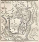 B0991 Jerusalem - Carta geografica d'epoca - 1890 Vintage map