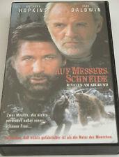 Auf Messers Schneide - VHS/Thriller/Anthony Hopkins/Alec Baldwin/FOX