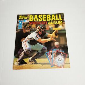 1982 Topps Baseball Sticker Album No Stickers