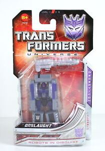 """TRANSFORMERS toy ONSLAUGHT 3"""" action figure CLASSIC UNIVERSE series - NEW!"""
