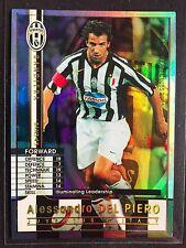 2005-06 Panini WCCF Bandiera Alessandro Del Piero Juventus Refractor card Rare