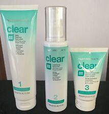 NUTRIMETICS CLEAR SKINCARE 3 PIECE SET Problem Skin (PROACTIVE) New RRP $90