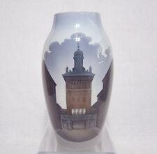 Bing & Grondahl Porcelain Vase Elephant Gate Carlsberg Brewery Copenhagen