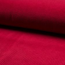 Stoff Cord Cordstoff Breitcord Kinderstoff Dekostoff mit Baumwolle Meterware Rot