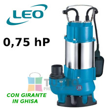 Pompa sommergibile con galleggiante per acque sporche cariche fogna XSP12 0.75hp