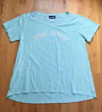 Stone Harbor NJ 'Breezin Up' aqua beach loose t-shirt (L) 100% cotton
