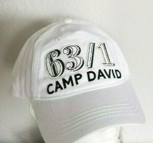 Neu Camp David Basecap Cap Mütze weiß