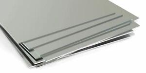 Edelstahlplatte 4mm-6mm V4A Blech Aisi 1.4571 Zuschnitt von 100 mm bis 2000 mm