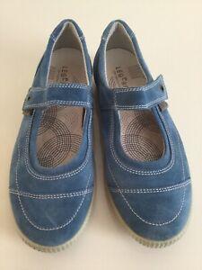 Damen Sneaker Legero Wildleder Legero Gr. 6 (39) blau
