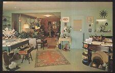 Postcard CAPTIVA ISLAND Florida/FL  McCaul's Sea Shell Gift Shop Interior 1960's