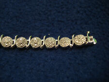 1 Carat Tw Macys Tennis Round Diamond Silver Bracelet 200