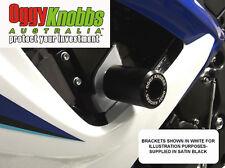 OK726 SUZUKI GSXR600-750 2006-07 OGGY KNOBBS NO CUT KIT(BLK KNOBS) Frame Sliders