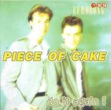 PIECE OF CAKE - do it again! CDS!! EUROVISION 1999 RARE