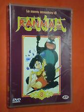 DVD DI ANIMAZIONE- COLLEZIONE-RANMA 1/2-nuove avventure-N°8-ep.n°98/104-NUOVO