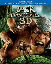 Jack the Giant Slayer  3D  (Blu-ray 3D/Blu-ray/DVD, 2013, 3-Disc Set)  BRAND NEW