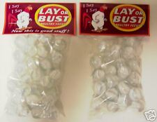 2 BAGS OF LAY OR BUST POULTRY FEEDS CATSEYE MARBLES