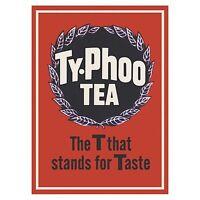 Typhoo Tea- The T Stands For Taste fridge magnet    (hb) REDUCED!!