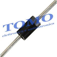 Lotto di 10 x diodo raddrizzatore 1N4007 THT DO41 1KV 1A