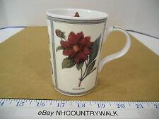 Queen's Botanica Fine Bone China Coffee or Tea Mug - EUC