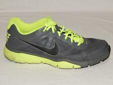 NIKE Men's Dual Fusion TR III 512109-003 Gray Neon Running Sneakers Size 12