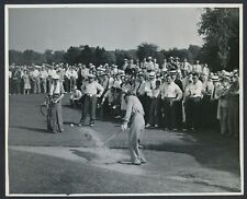 """1941 Horton Smith, """"Chips Out of Trouble at Inverness"""" Large Vintage Photo"""