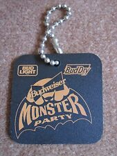 Budweiser Bat Key Ring Monster Party Bud Light Bud Dry Keychain FREE SHIP