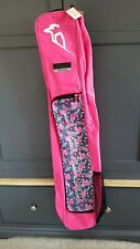 BNWT Kookaburra Enigma Hockey Stick Bag - Deep Pink New Hidden Stick Compartment