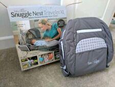 Baby Delight Snuggle Nest Traveler Xl, Gray/White Co-sleep portable bassinet bed