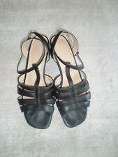Sandalen, Riemchensandalen, Sandaletten von Salamander, Gr. 6,5, schwarz