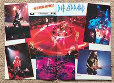 DEF LEPPARD ~ 1993 UK Magazine centrefold poster