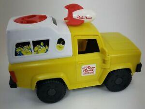 Imaginext Disney Toy Story Pizza Planet Truck Little Green Men Alien 2011 Mattel
