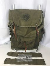 VINTAGE TWO WAY FRAME PACK EK SCOUTS SCOUTING CANVAS BACKPACK FRAME