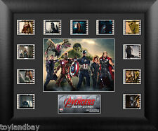 Film Cell Genuine 35mm Framed Marvel's Avengers Age of Ultron Montage USFC6235