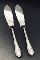 Set of 2 Antique (1910-1920) Walker & Hall Small Table Knives,Sheffield.