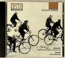 EVGENY KISSIN- Mozart: Piano Concertos Nos.12 & 20 & Two Inventions CD 1984/1990