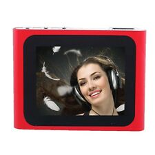 "Music Play Mini 6th Gen 1.8"" LCD MP3 MP4 Player FM Radio Video Clip Player B AD"
