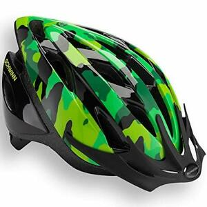 Schwinn Thrasher Bike Helmet Lightweight Microshell Design Child Green Camo