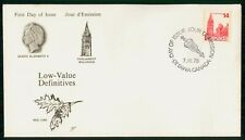 Mayfairstamps Canada Fdc 1978 Parliament Buildling Queen Eliz Ii First Day Cover